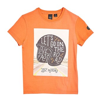 Mobypebo - T-shirt manches courtes - orange