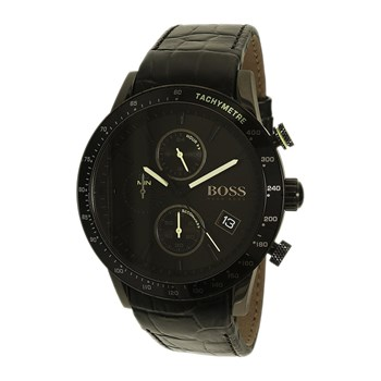 Hugo Boss - Montre en cuir - bicolore