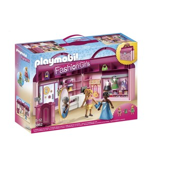 Playmobil Fashion Girls - Le Magasin transportable - multicolore