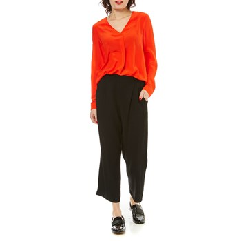 Caroll - Avril - Blouse en soie - orange