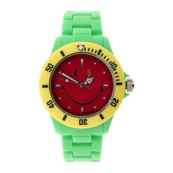 Smiley - Orologio analogico - verde