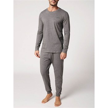 Justin-Julio - Ensemble sweat-shirt et pantalon - gris