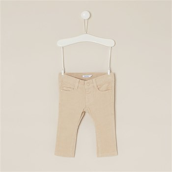 Bout'Chou - Pantalon coupe slim en velours - beige