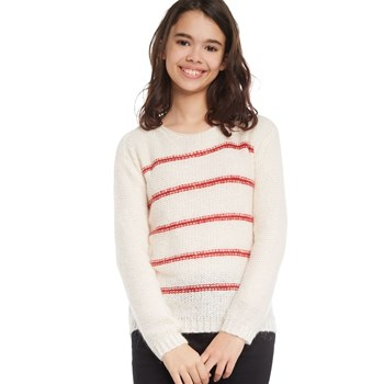 Monoprix Kids - Pull point mousse rayé