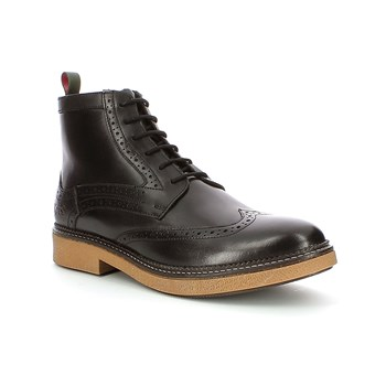 Fortino - Chaussures montantes en cuir - noir