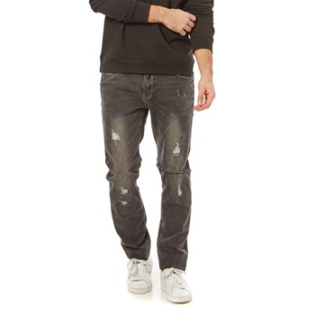 Jeans regular - grau