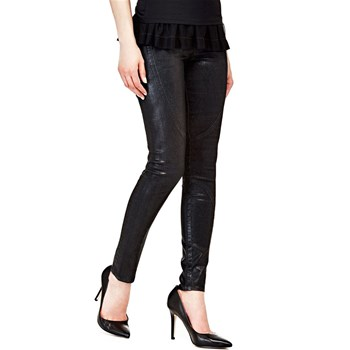Guess - Jean skinny 5 poches - noir