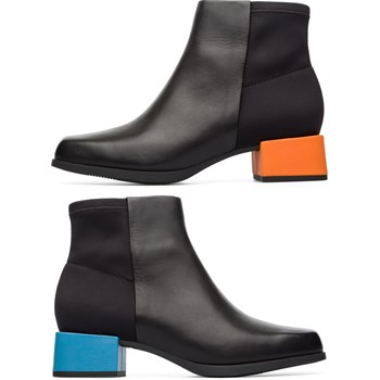 Twins - Bottines en cuir - noir
