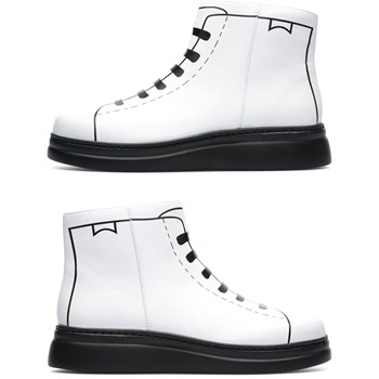 Twins - Bottines en cuir - blanc