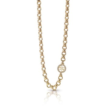 Guess - Collier chaine - or