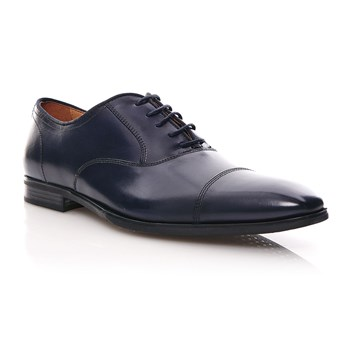 New Life - Derby in pelle - blu scuro
