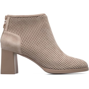 Kara - Bottines en cuir - beige