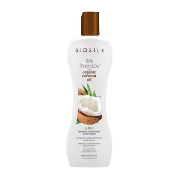 Biosilk - Silk Therapy Coconut Oil 3 en 1 - Haarpflege - 355 ml