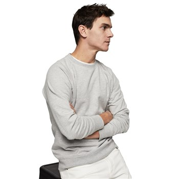 Mango Man - Sweater coton - gris