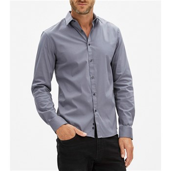 Chemise manches longues - anthracite