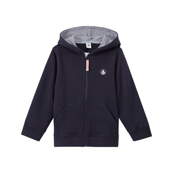 Sweat-shirt zippé - bleu