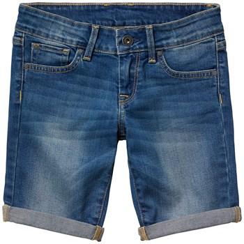 Sabel short - Bermuda - denim bleu