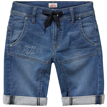 Snippet runner short - Bermuda - denim bleu