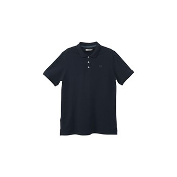 Polo slim-fit - bleu marine