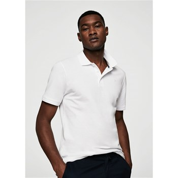Polo slim-fit - blanc