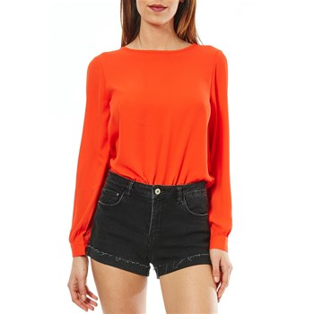 Best Mountain - Blouse dos nus - corail