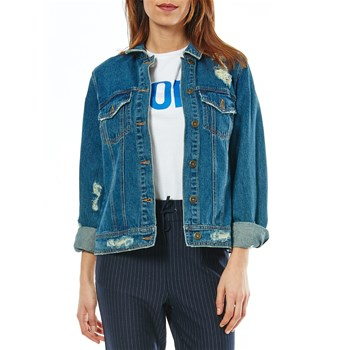 Only - Veste en jean - denim bleu