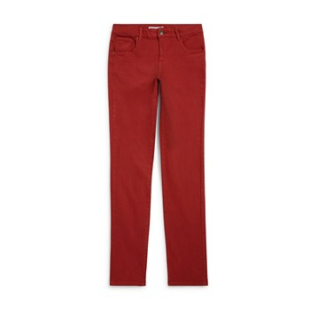 Monoprix Kids - Pantalon coupe slim - rouge