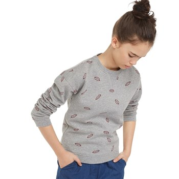 Monoprix Kids - Sweat imprimé - gris chine