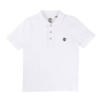 Timberland - Polo manches courtes - blanc