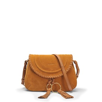 Polly - Besace en cuir - marron
