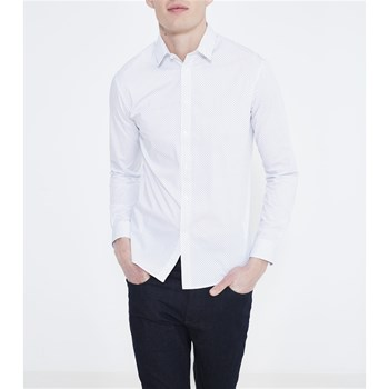 Chemise manches longues - blanc