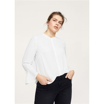 Blouse manches cloche - blanc