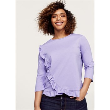 T-shirt manches courtes - lilas