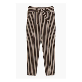 Pantalon 7/8 - gestreift