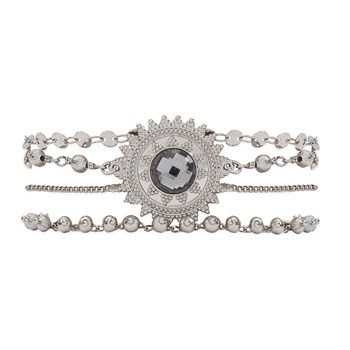 Magic - Bracelet multi-rangs - argent