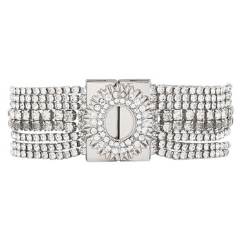 Hipanema - Flakes - Bracelet multi-rangs - argent