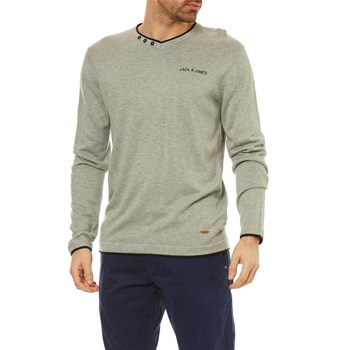 Jack & Jones - Legend - Pull - gris clair