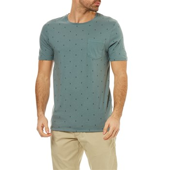 Jack & Jones - Jcomicro - Kurzärmeliges T-Shirt - blau