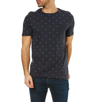 Jack & Jones - Jcomicro - Kurzärmeliges T-Shirt - marineblau