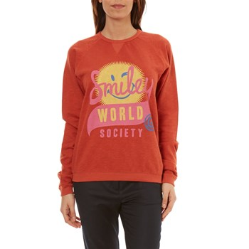 Smiley - Valley - Sweatshirt - orange