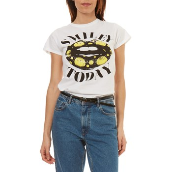 Smiley - Smile Today - T-shirt manches courtes - blanc