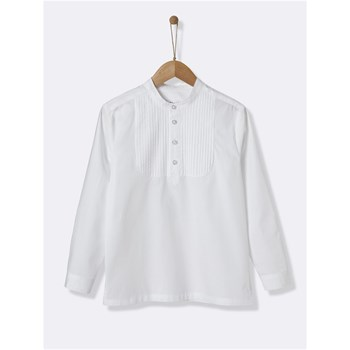 Cyrillus - Chemise manches longues - blanc