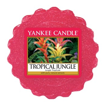 Yankee Candle - Jungle Tropicale - Lote de 4 tartaletas - rojo
