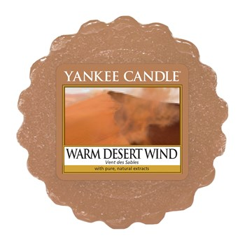 Yankee Candle - Vent des sables - Lot de 4 Tartelettes - orange
