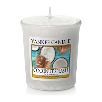 EAU DE NOIX DE COCO - Lot de 3 Votives - blanc