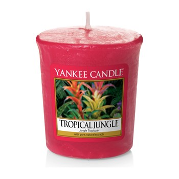Yankee Candle - Jungle tropicale - 3 candele votive - rosso