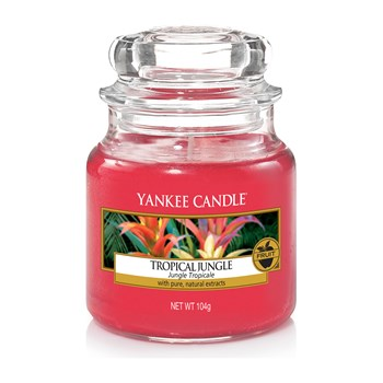 Yankee Candle - JUNGLE TROPICALE - Petite Jarre - rouge