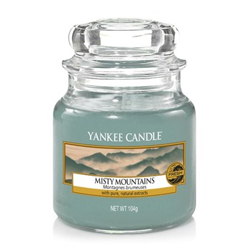 Yankee Candle - MONTAGNES BRUMEUSES - Petite Jarre - gris