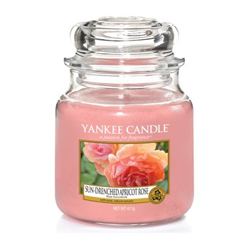 Yankee Candle - Rose succulente - Geurkaars - medium jar - roze