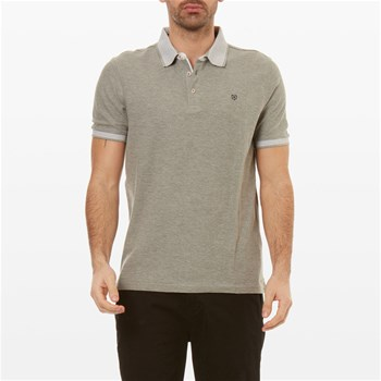 Jack & Jones - Perry - Polo de manga corta - gris claro